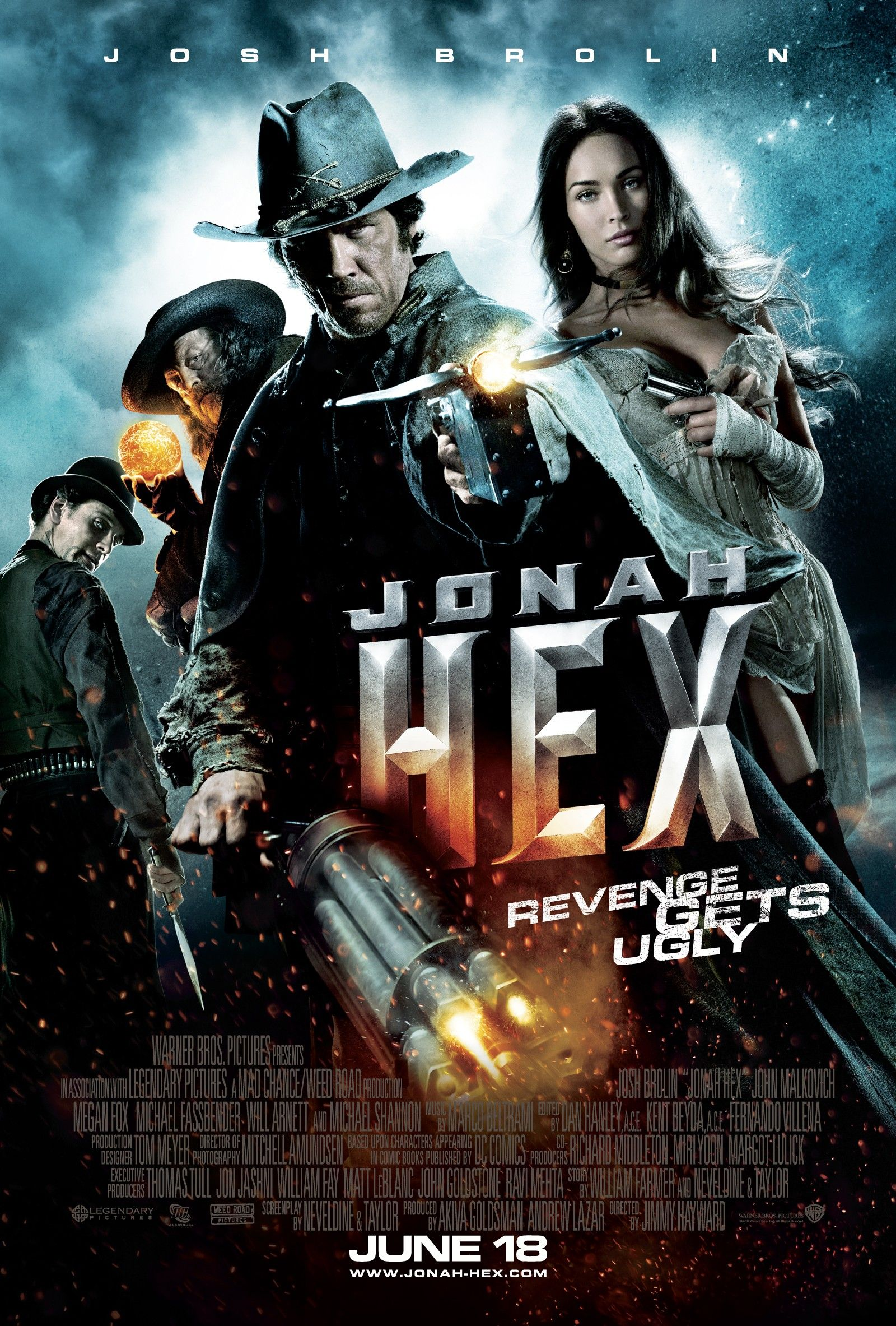 New JONAH HEX Movie Poster Featuring - 1054.6KB