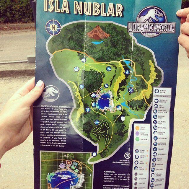 Jurassic World Map Pdf. jurassic world brochure Jurassic World Brochure for a Fully Functional Isla Nublar  Collider