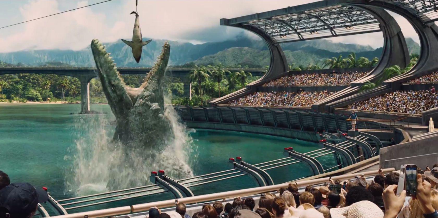 Jurassic World Trailer Images Feature Human Friendly Raptors Collider
