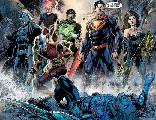 justice league - comic-book-corner