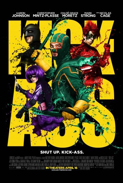 Kick-Ass final movie poster