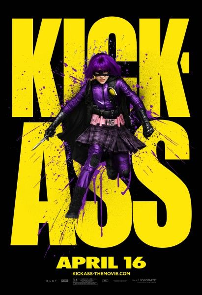 Kick-Ass movie poster Hit Girl (2)