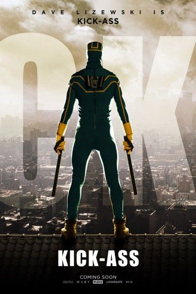 Kick-Ass movie poster Dave Lizewski Kick-Ass