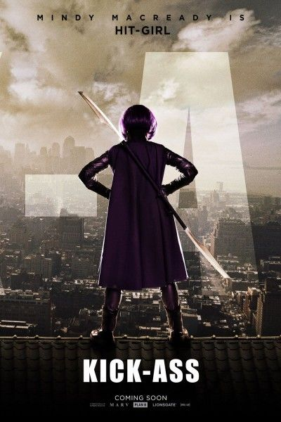 Kick-Ass movie poster Mindy Macready Hit-Girl