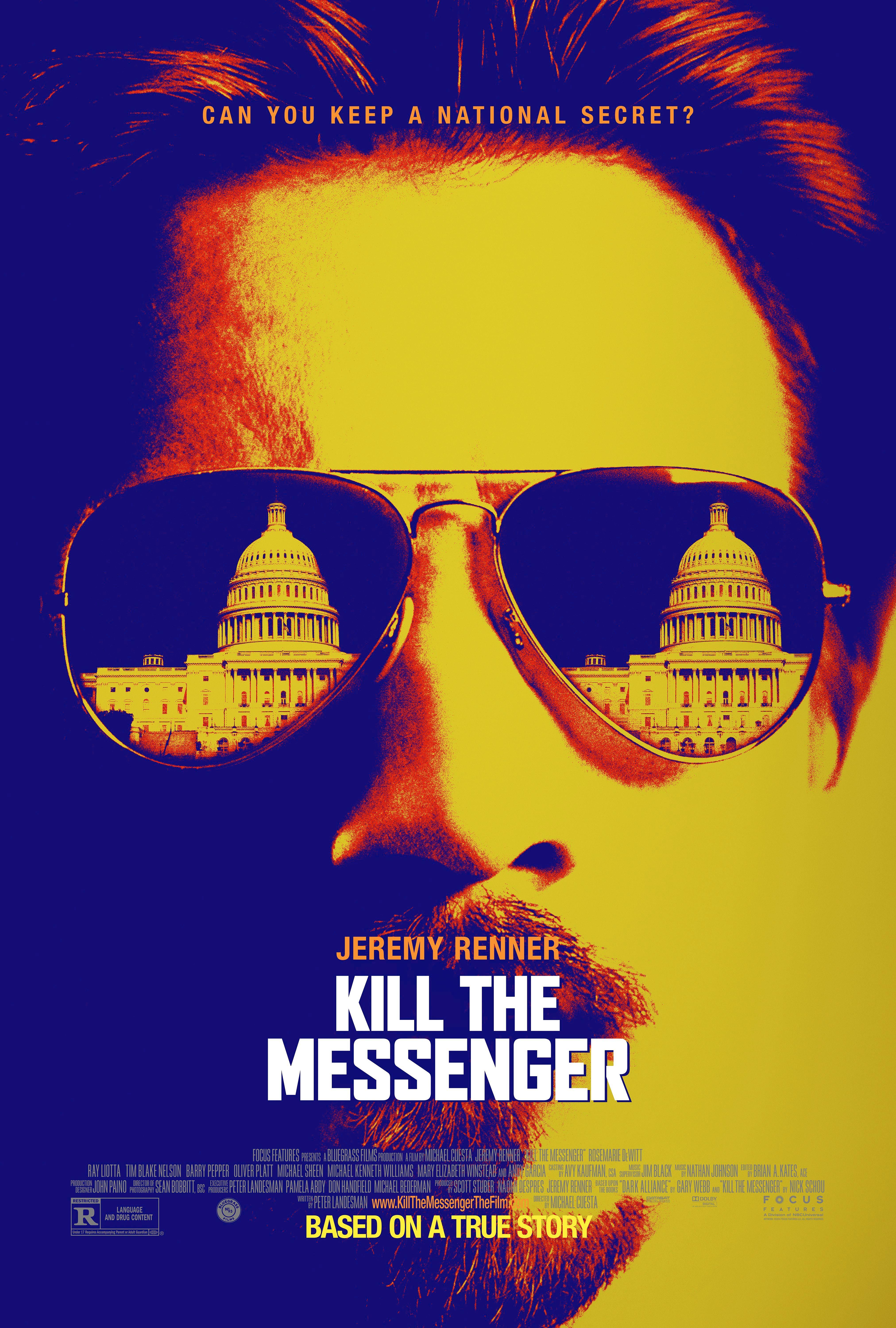 Jeremy Abrams Dc Kill The Messenger Poster