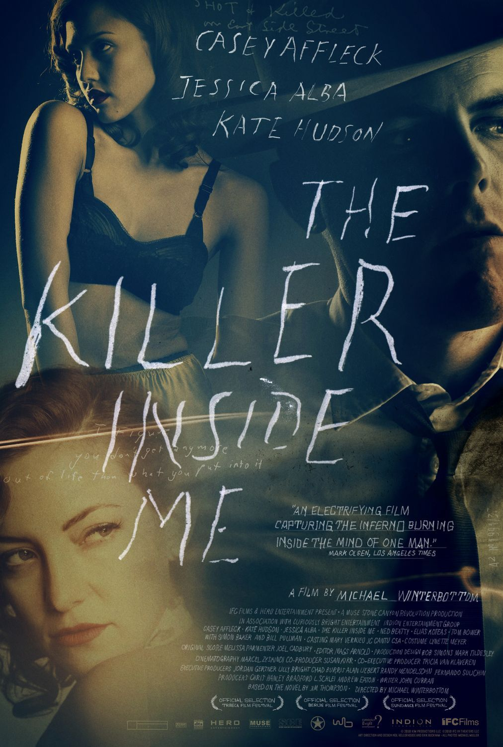 Trailer and poster for the killer inside me starring casey for Inside movie