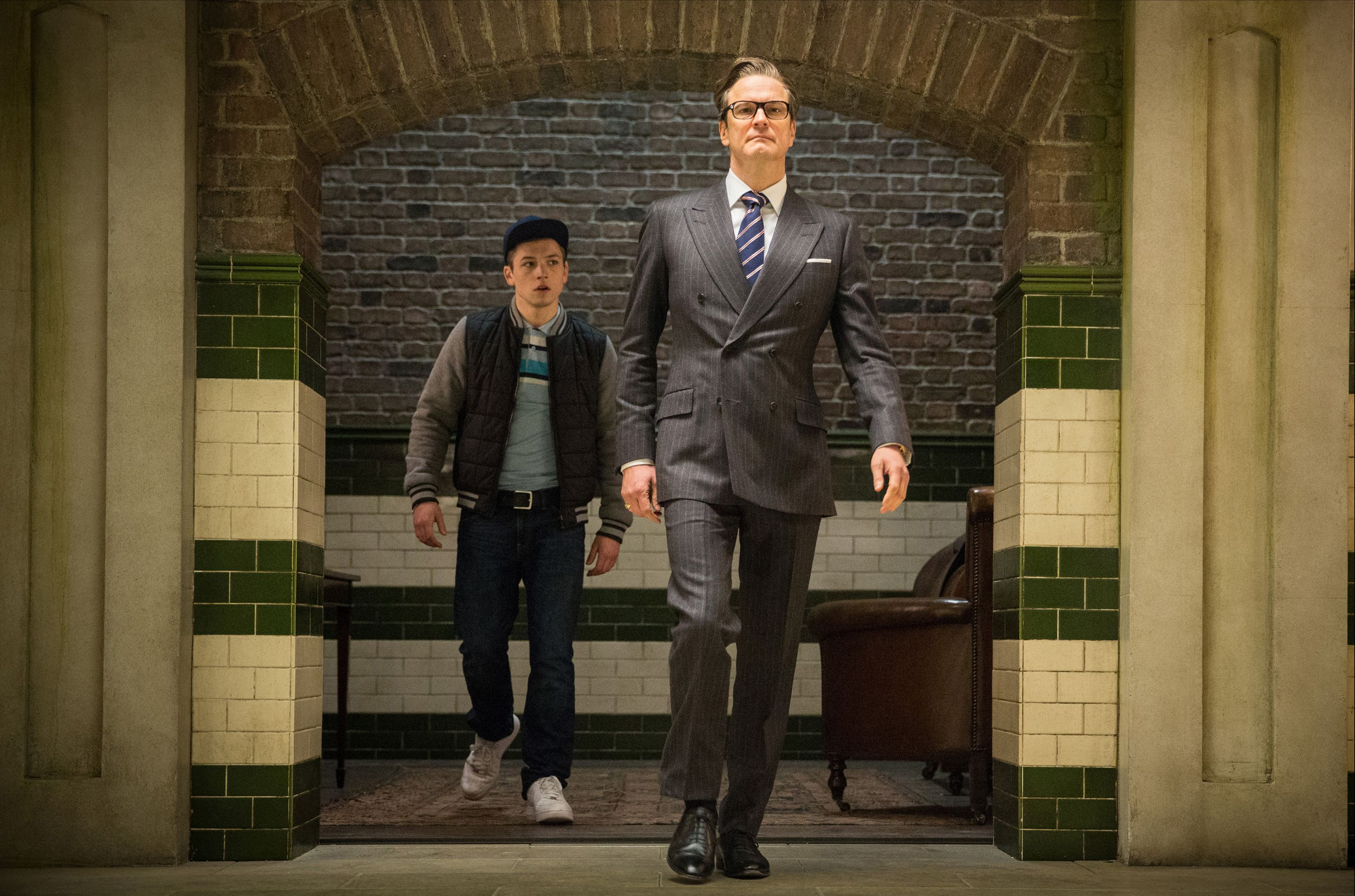 Kingsman The Secret Service Interview Taron Egerton: Kingsman: The Secret Service Sequel May Introduce American