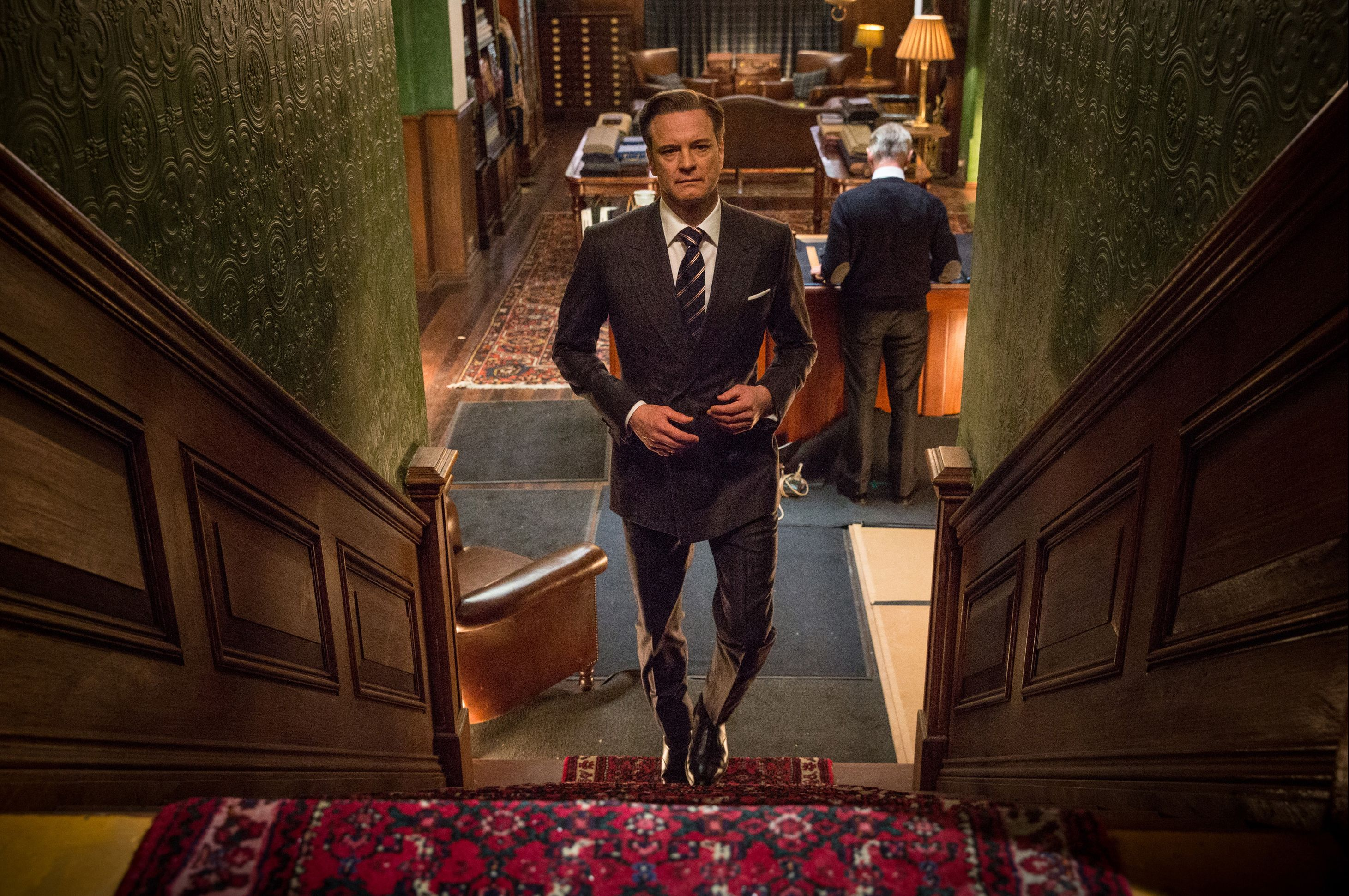 KINGSMAN: The Secret Service Comic-Con Panel Recap: Colin Firth.