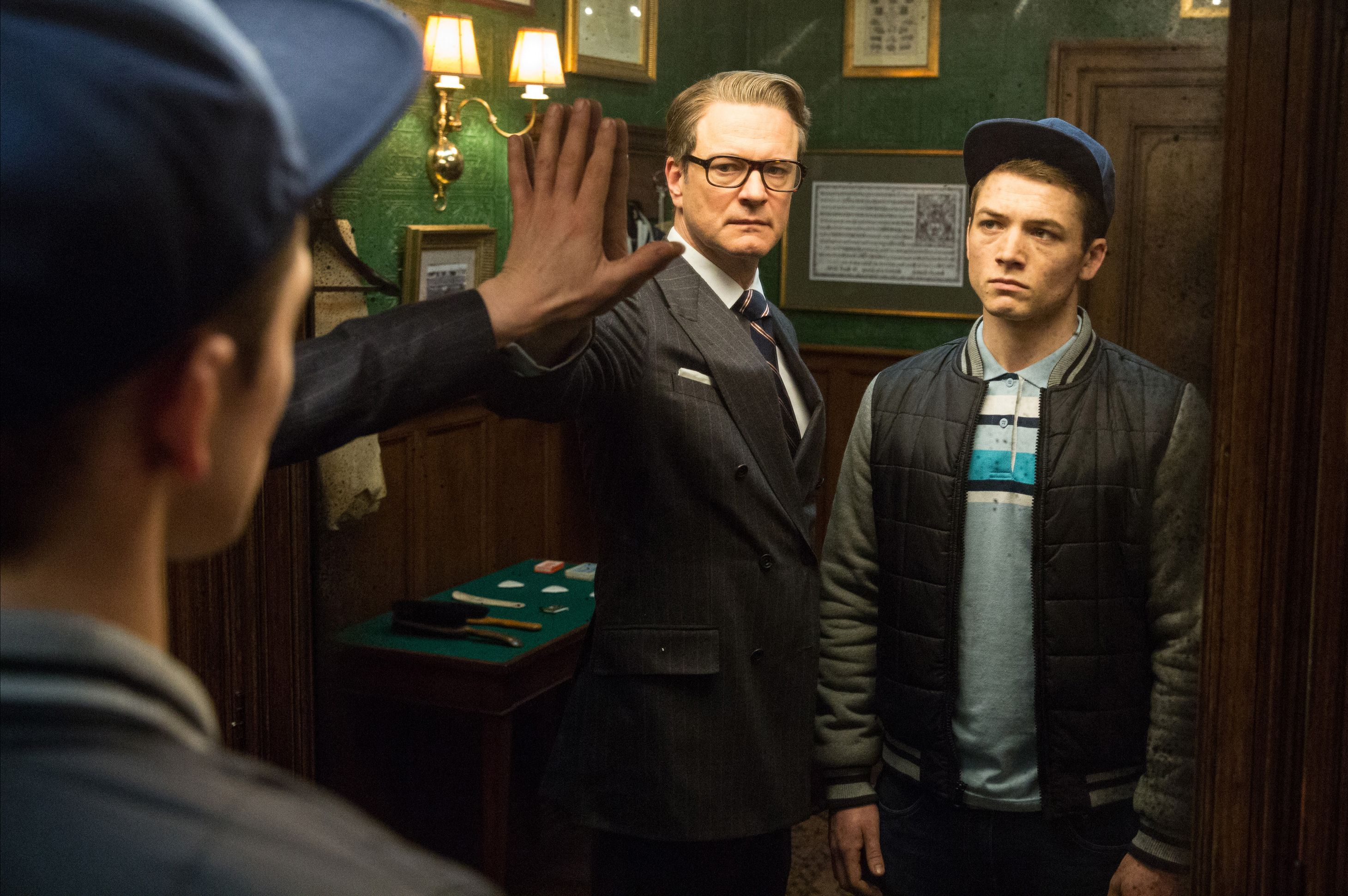 KINGSMAN: The Secret Service Interview: Colin Firth and Samuel L.