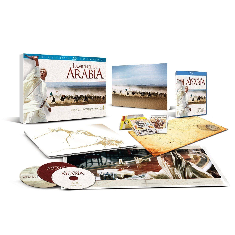 lawrence of arabia 50th anniversary edition blu ray