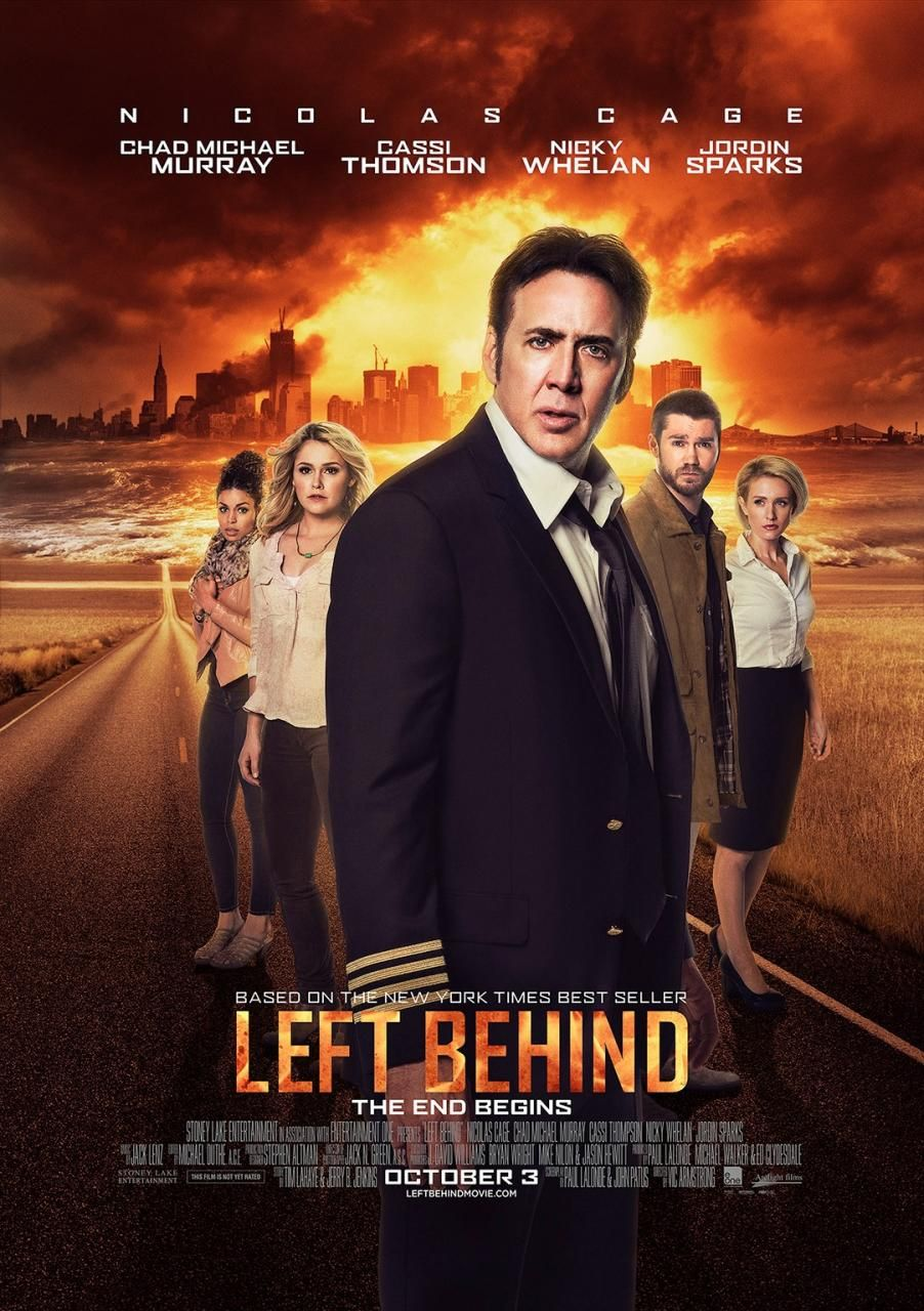 Left Behind Review | Film Stars Nicolas Cage and Nicky ...