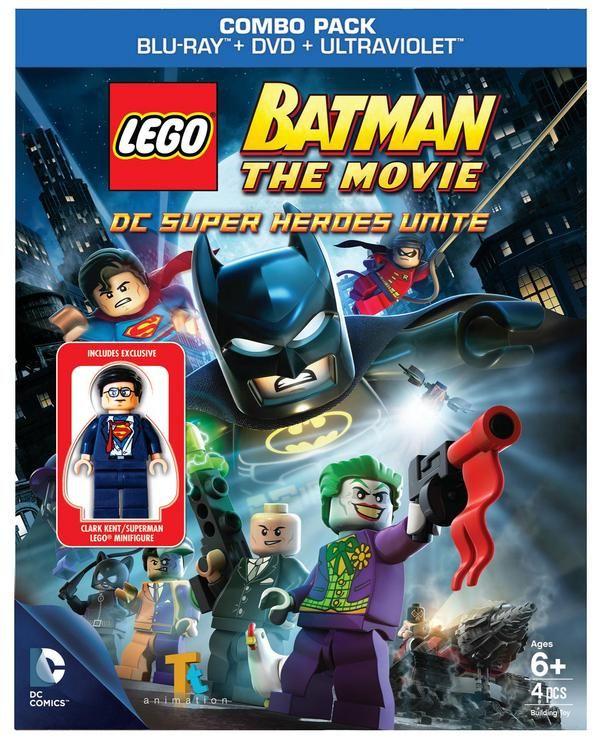 Lego Batman The Movie Dc Super Heroes Unite Blu Ray Review Collider