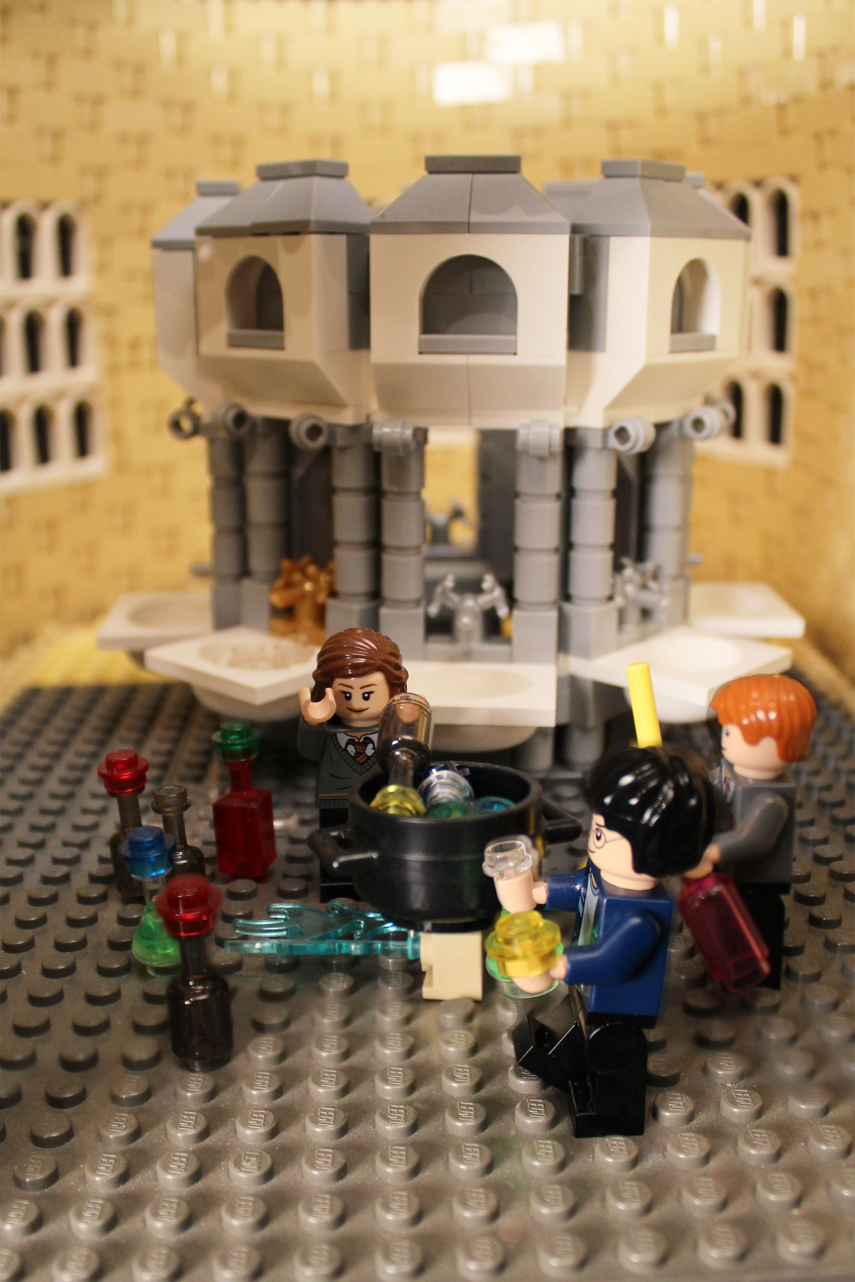 Alice Finch S Massive And Detailed Lego Harry Potter