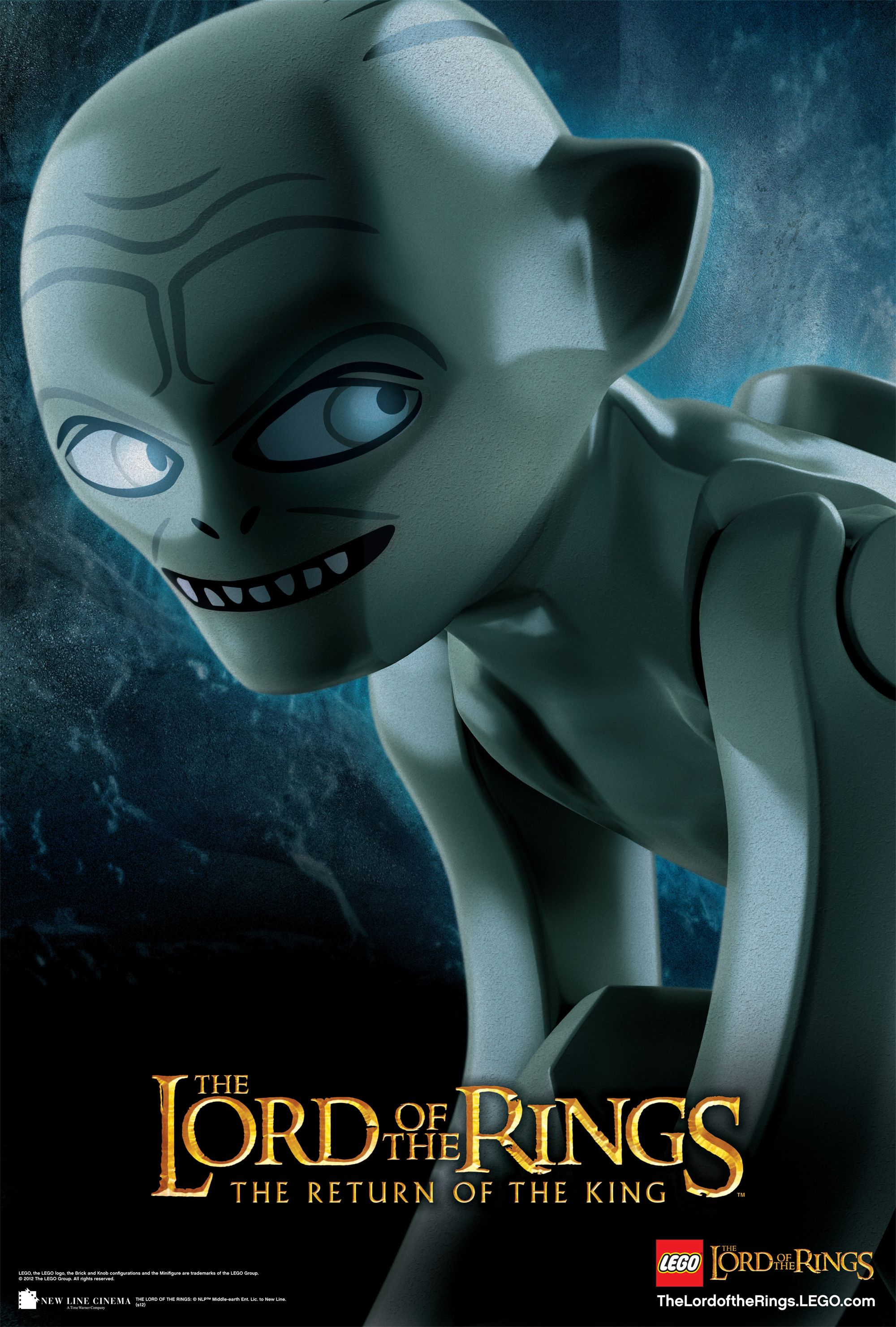 lego lord of the rings character images and gollum poster collider