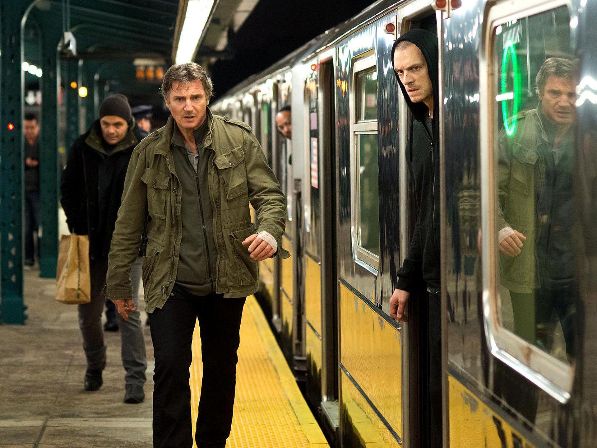 Liam Neeson and Ed Harris Talk Run All Night   Collider