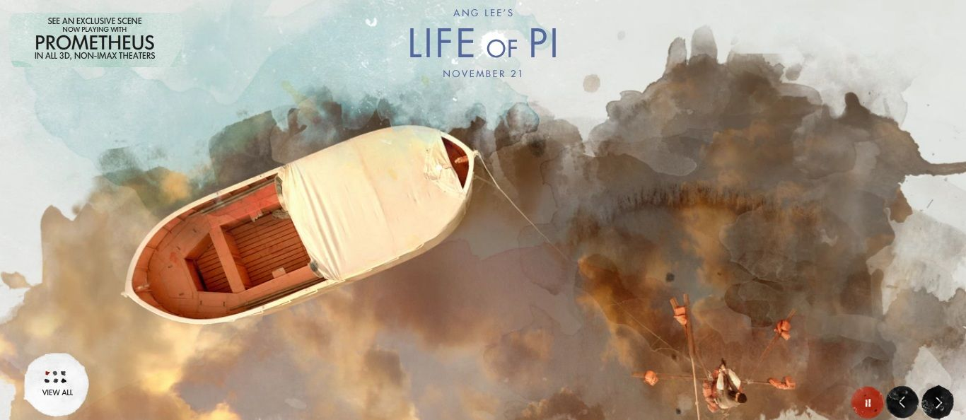 LIFE OF PI Images and Footage | Collider