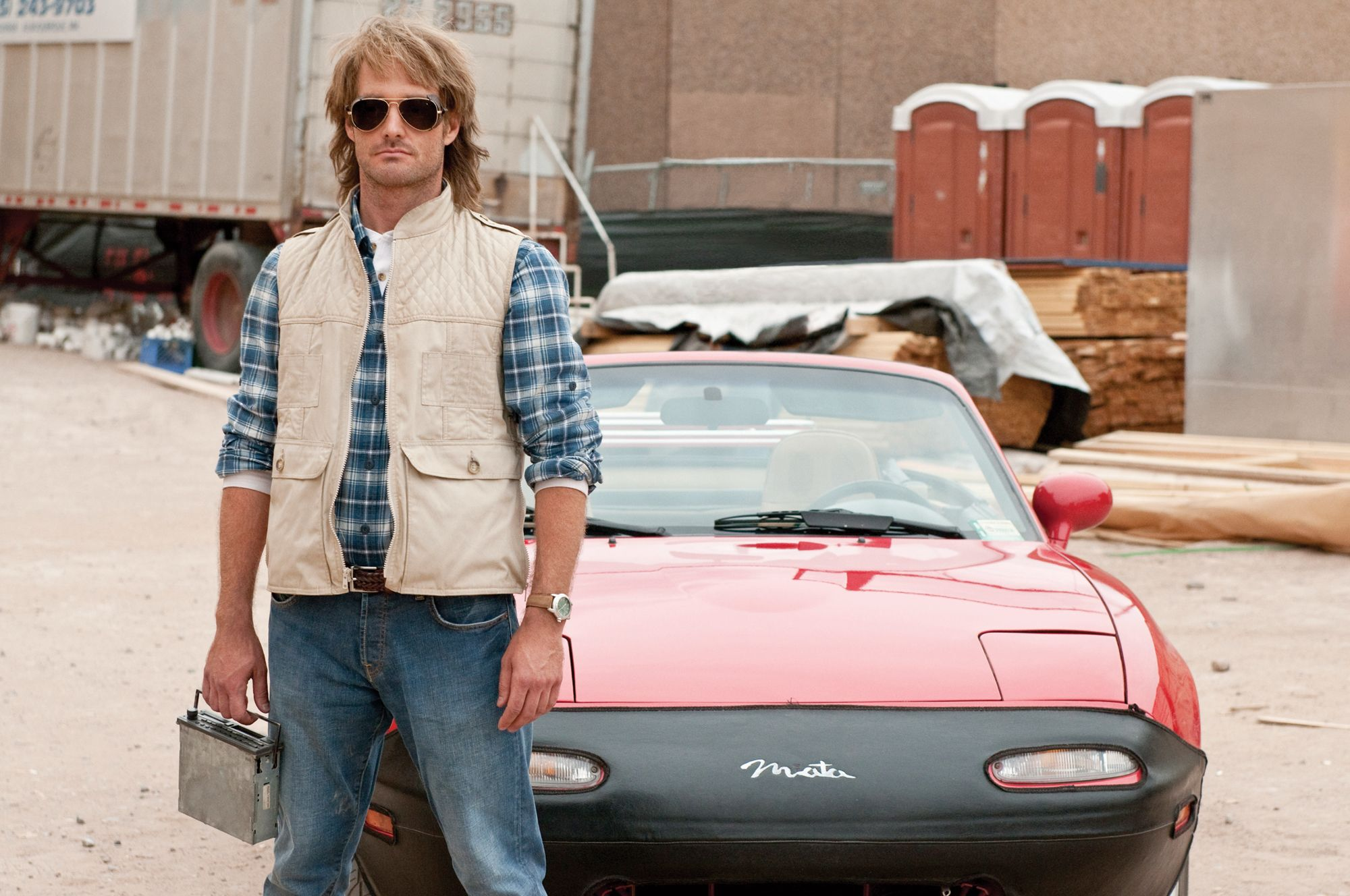 First Official Images from MACGRUBER Starring Will Forte ...