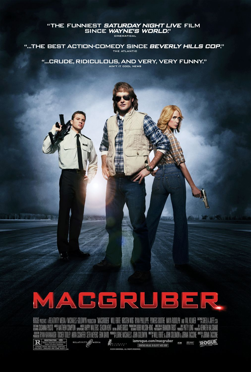 New BEASTLY and MACGRUBER Movie Posters in High Resolution ...