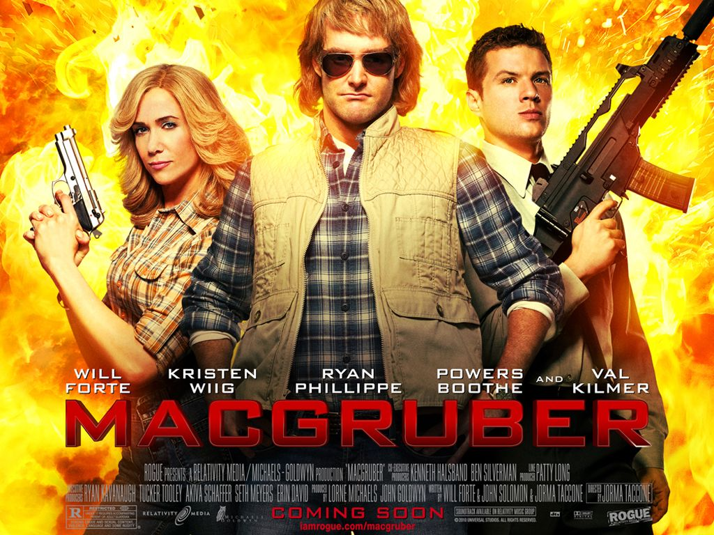Jorma Taccone Confirms He's Working on MACGRUBER 2 with ...