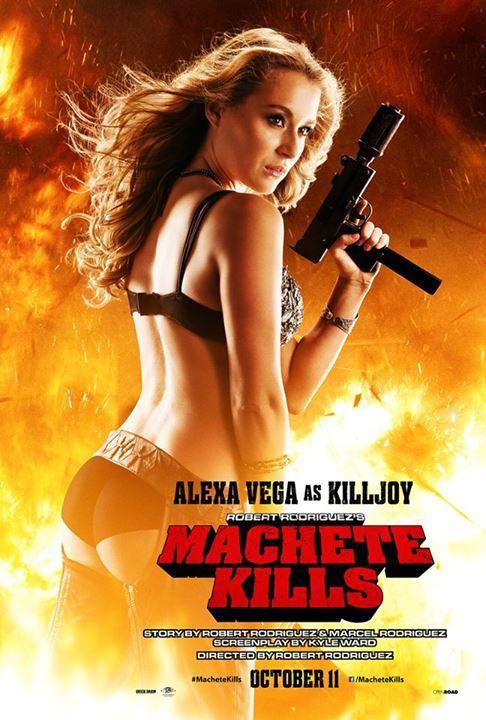 Machete kills interview alexa vega talks convincing robert machete kills poster alexa vega altavistaventures Gallery