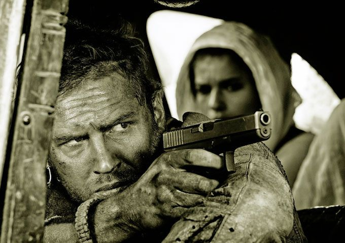 Mad Max: Fury Road Images: Tom Hardy Gives Nicholas Hoult a Boost ...