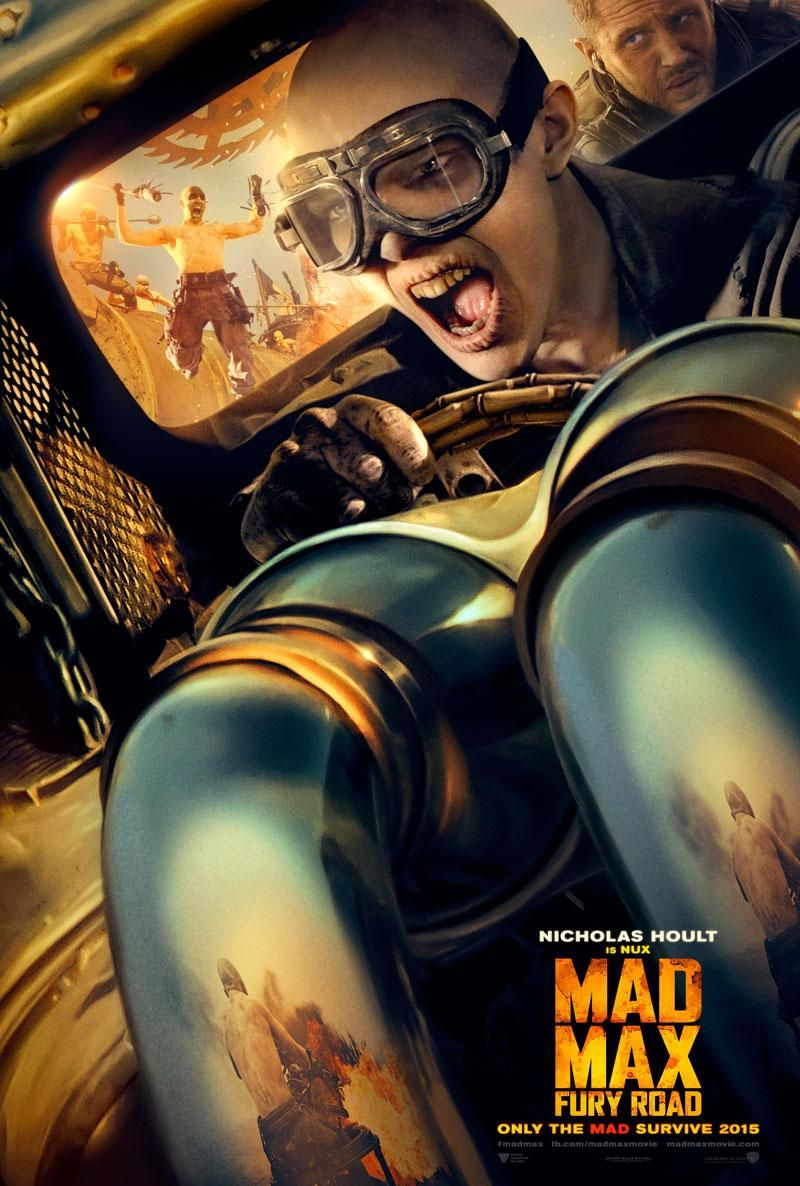 Mad Max: Fury Road Posters Featuring Tom Hardy and Charlize Theron ...