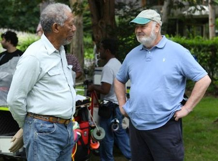magic of belle isle morgan freeman rob reiner
