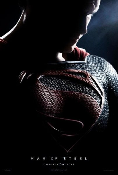 man of steel poster comic con
