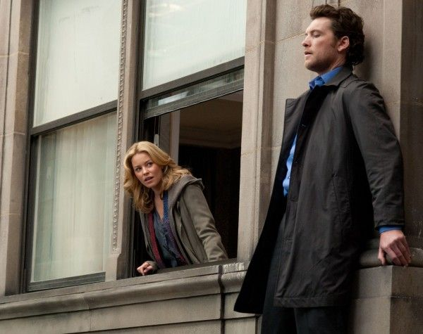 ELIZABETH BANKS SAM WORTHINGTON MAN ON A LEDGE