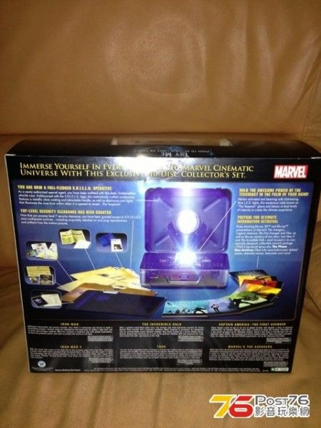 marvel phase one blu ray box set 2