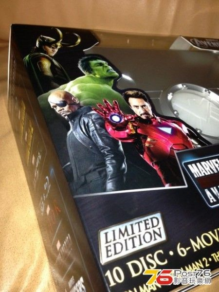 marvel phase one blu ray box set 4