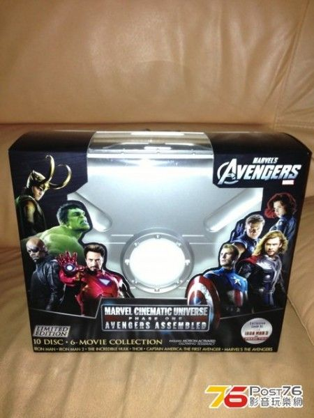 marvel phase one blu ray box set 5