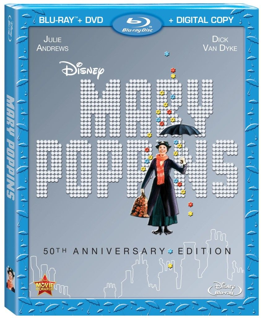 mary poppins 50th anniversary edition blu ray disc