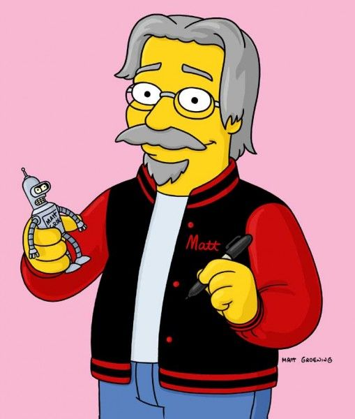 matt_groening_futurama_the_simpsons_cartoon