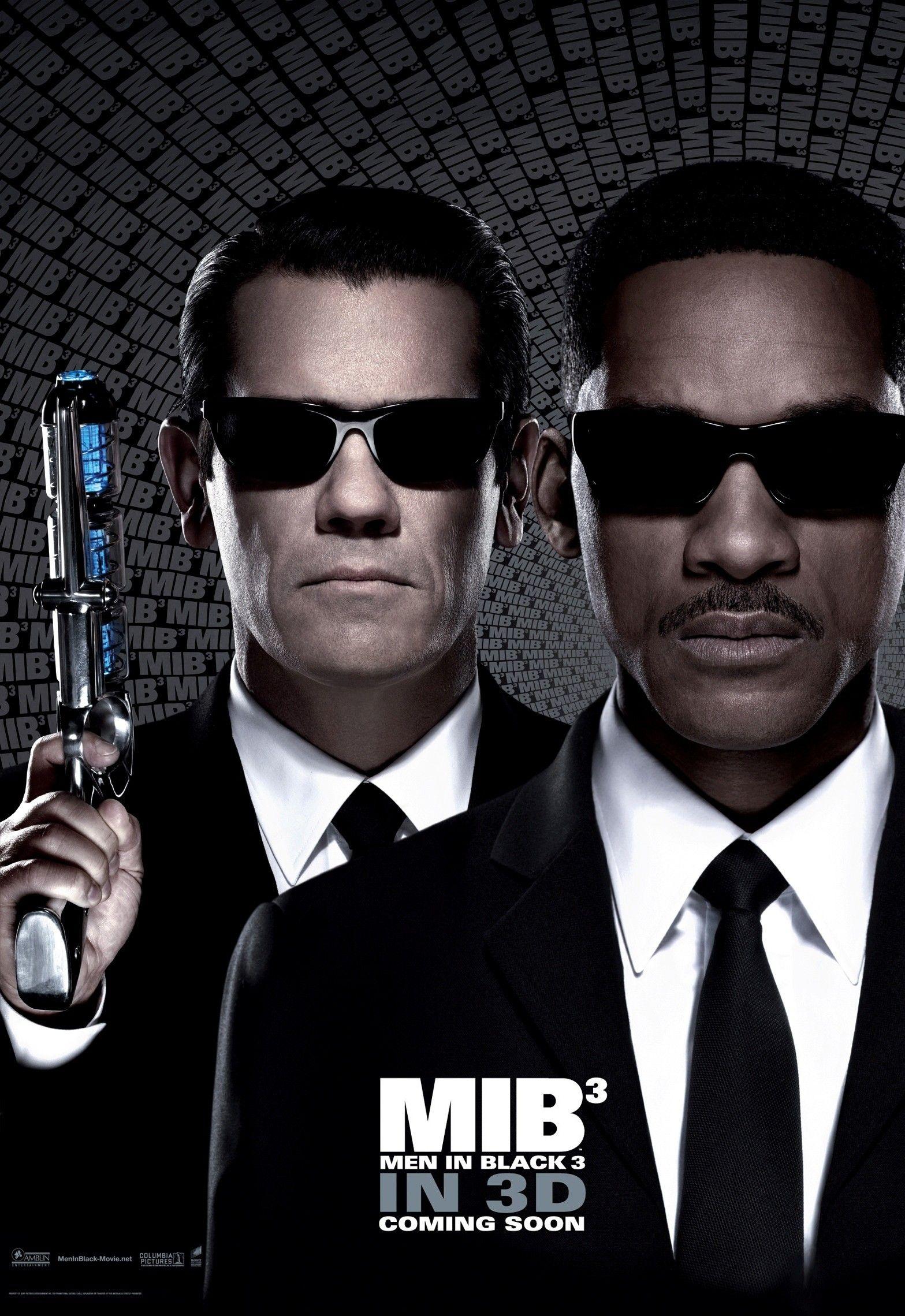 men in black 3 posters collider