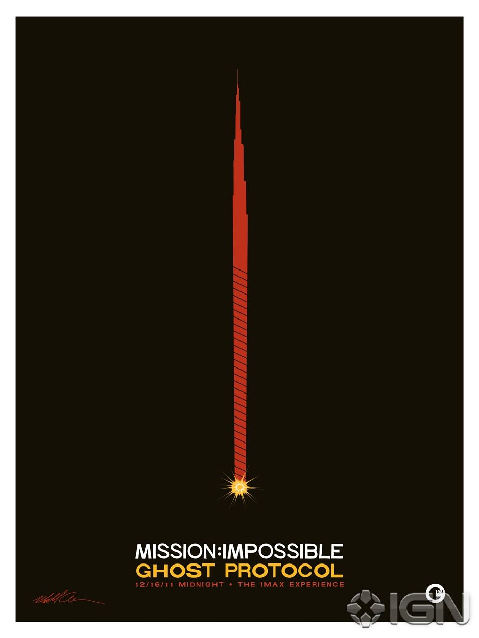 MISSION: IMPOSSIBLE 4 Special Edition Poster | Collider