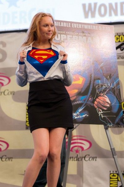 MOLLY QUINN at WonderCon