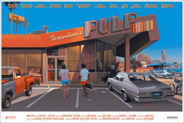 Mondo Unveils Pulp Fiction Poster For Black Friday Timed
