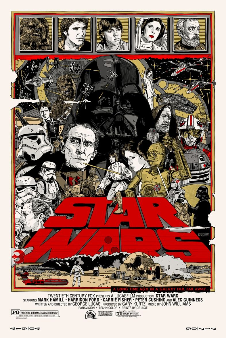 tyler stout delivers the final mondo star wars posters collider. Black Bedroom Furniture Sets. Home Design Ideas