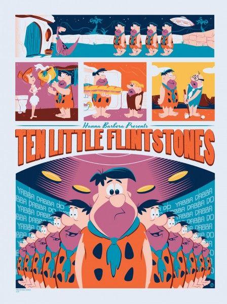 mondo-the-flintstones-poster