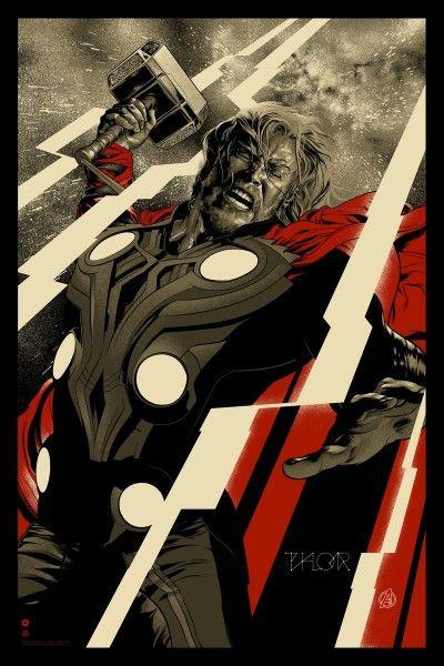 mondo-thor-avengers-poster