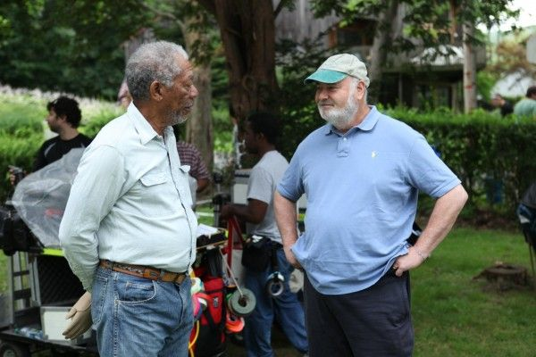 morgan freeman rob reiner the magic of belle isle
