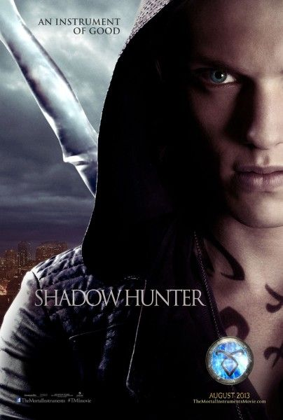 mortal instruments city of bones poster jamie campbell bower