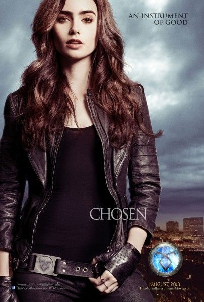 mortal instruments city of bones poster lily collins