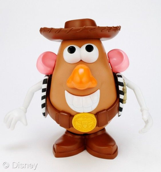 Mr. Potato Head Toy Story 3 Woody's Tater Round-Up
