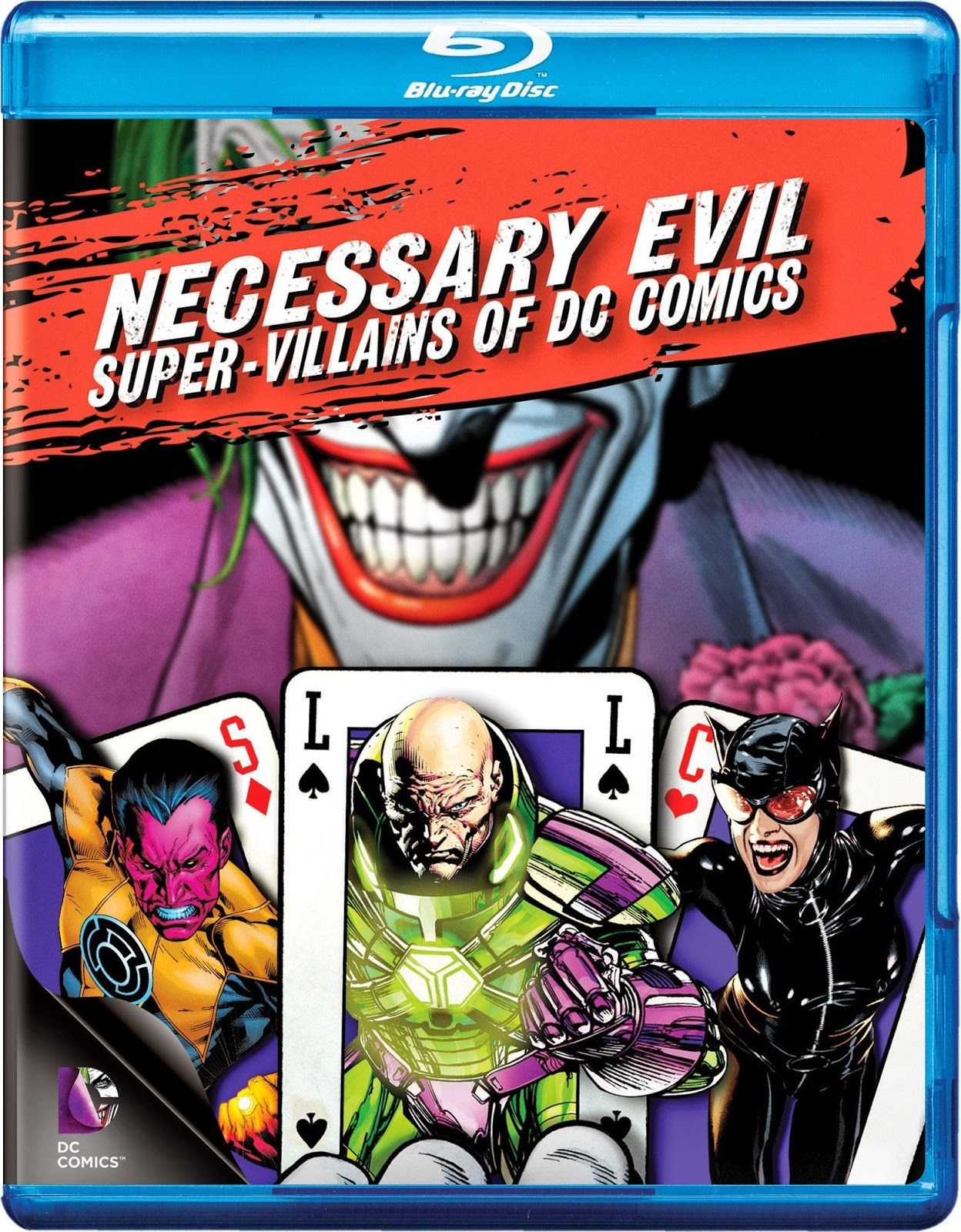 Necessary Evil Super Villains Of Dc Comics Blu