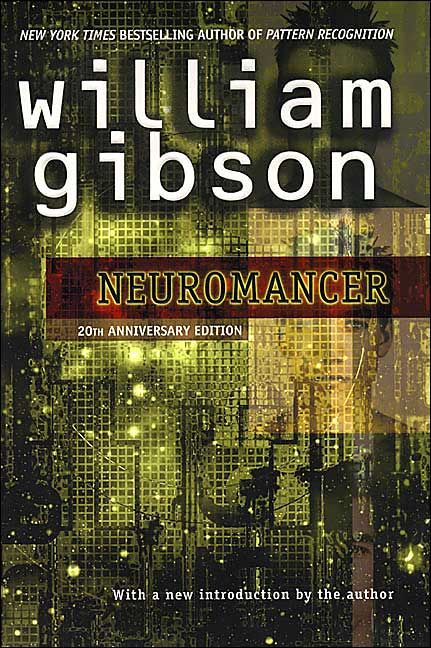 Image result for neuromancer gibson book cover