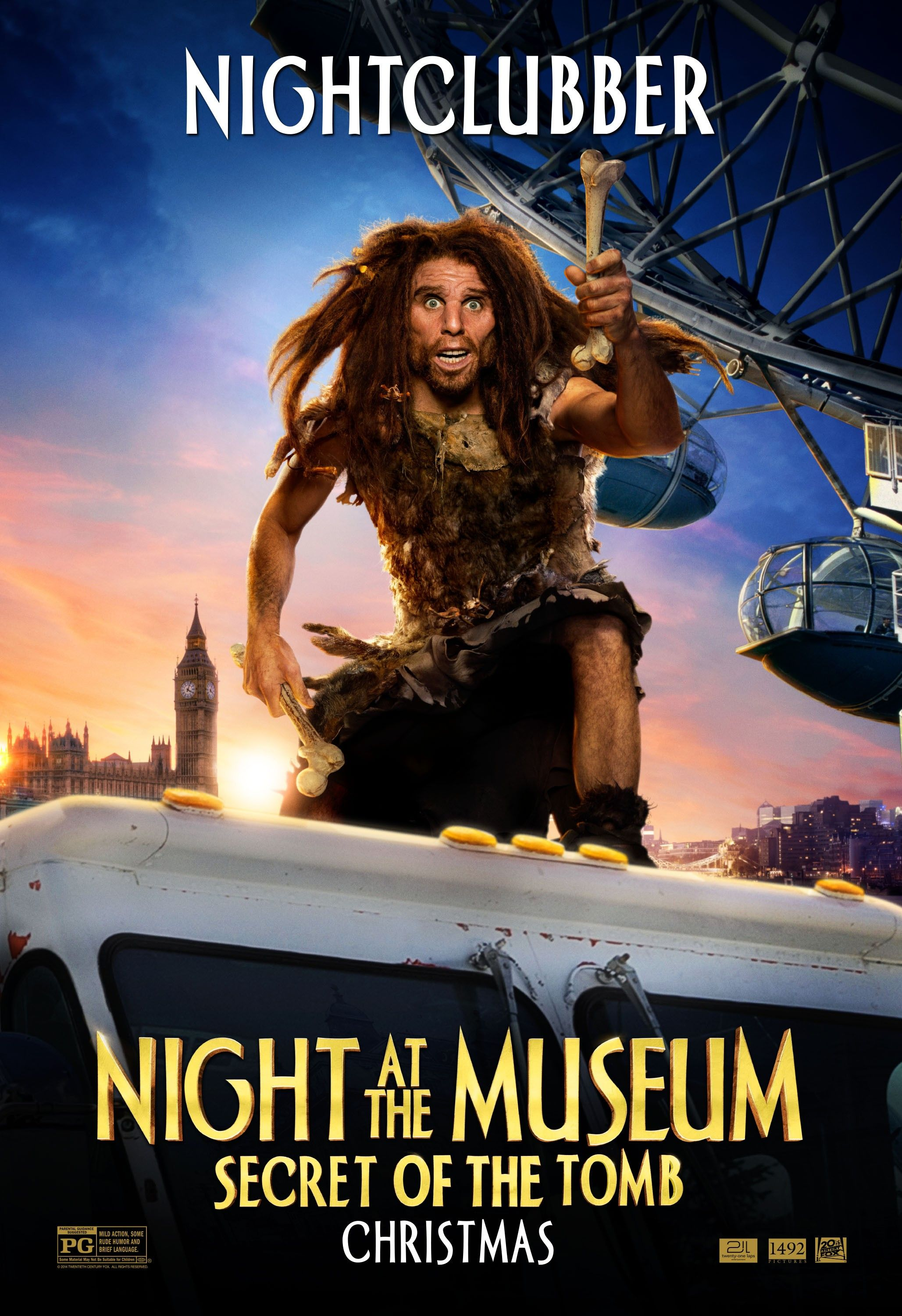 7 new night at the museum: secret of the tomb character posters
