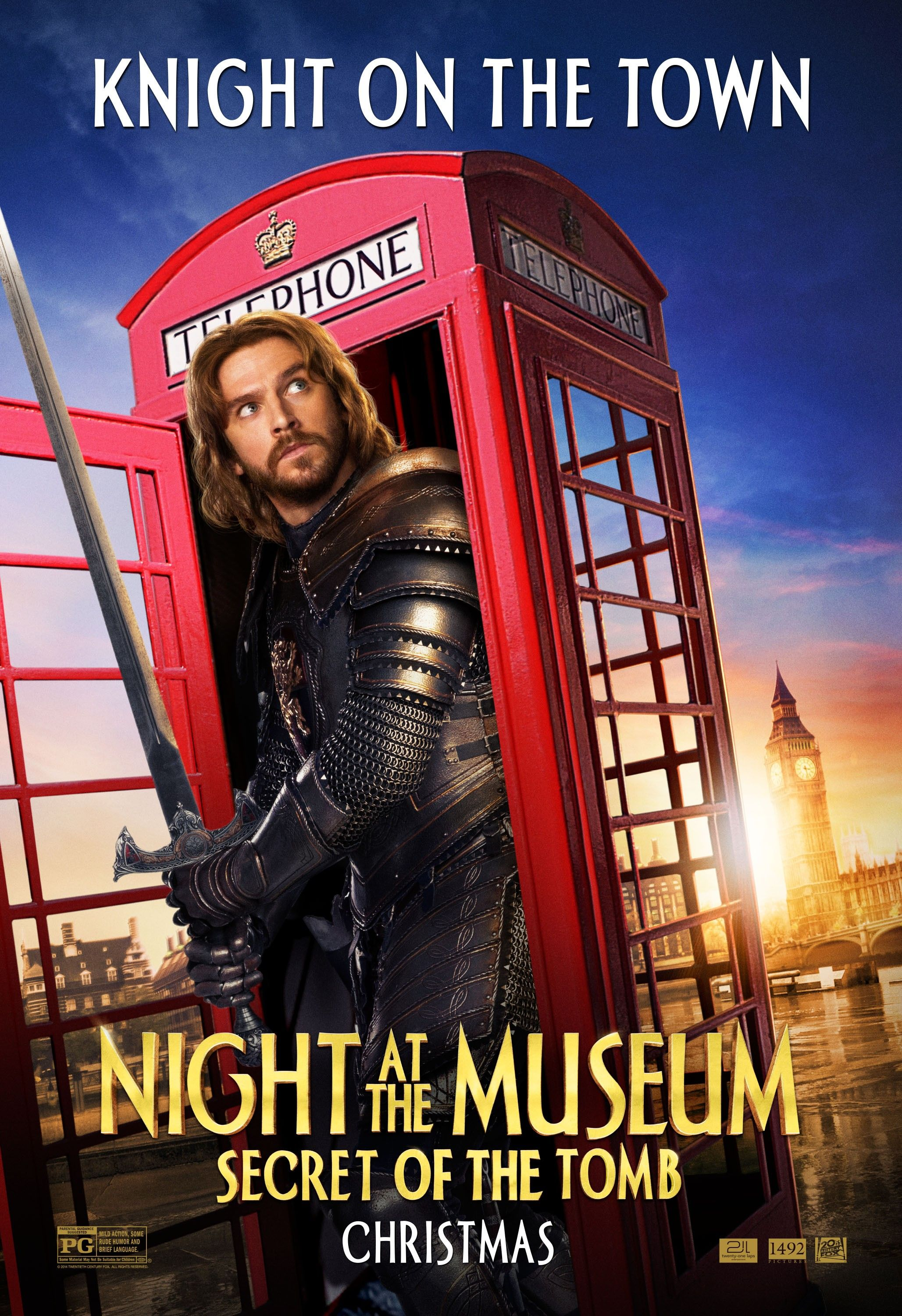 night at the museum: secret of the tomb interview | collider
