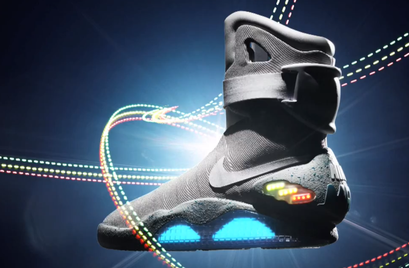 beef11693ac Nike Auctioning BACK TO THE FUTURE-Inspired MAGs Sneakers